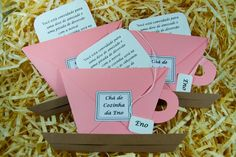 Ale, Place Cards, Container, Place Card Holders, Party, Envelope, Scrap, Lingerie, Tea Party Invitations