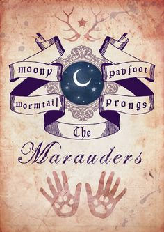 "hms-wolfstar: "" The Marauders. """
