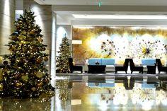 Новогоднее оформление  #новыйгод #елка #новогодняяелка  #оформление #декор #дизайн #банкет  #флористика #композиция