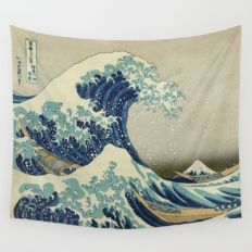 The Great Wave Off Kanag… Wall Tapestry