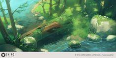 Until Dark - Forest 1 by Kurunya on deviantART