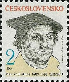 Martin Luther, bearded Gospel man? (for a little while anyway)