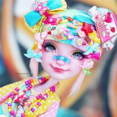"9,357 Likes, 112 Comments - Dollfriend (@mozekyto) on Instagram: ""This Decora Cutey is up on my channel now! #dollrepaint #dollrepainting #cute #kawaii #decora…"""