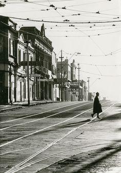 Mark Strizic Swan Street Richmond 1963 (at Church Street. Melbourne, Australia)