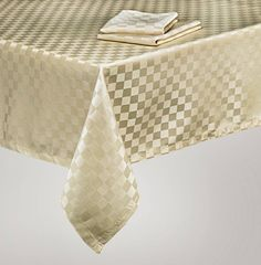 Everyday Jacquard Easy Care Tablecloth By Mera