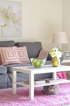 style, home decor, ikea, pink