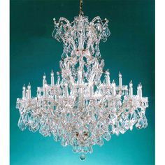 For centuries, Maria Theresa style of crystal chandeliers has been a sign of wealth, style, and class. In keeping with the time honored traditions of our European artisans, Crystorama's Maria Theresa collection offers a variety of finishes and crystal combinations.