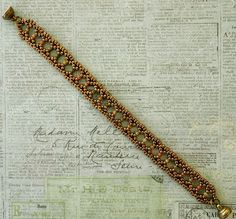 Linda's Crafty Inspirations: Bracelet of the Day: Silver Lace