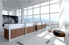 DV702-LED 3 by DVO   Reception desks