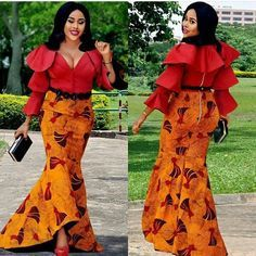 """180 Likes, 2 Comments - Fashion, the Nigerian way. (@topwomenfashion.naija) on Instagram: """"Never joke with girls whose name end with a vowel  @isyzee ➖➖➖➖➖➖➖➖➖➖➖ Follow…"""""""