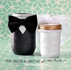 Mason Jar Crafts – Groom