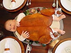 Can I dress up baby girl Kirke for thanksgiving?
