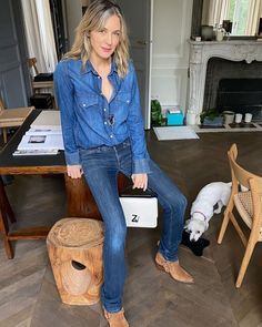 """Cecilia Bonstrom on Instagram: """"#onthego#holiday#me @zadigetvoltaire #totallook#denim#n'dricks#boots#city#initale#bag#jewellery#collaboration @vklillie"""" Boot City, Collaboration, Instagram, Jewellery, Denim, Bag, Boots, Holiday, Vintage"""