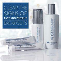 Details about nu skin clear action acne medication system Nu Skin, Oily Skin Care, Healthy Skin Care, Skin Care Routine 30s, Action, Acne Treatment, Clear Skin, Cleanser, Moisturizer