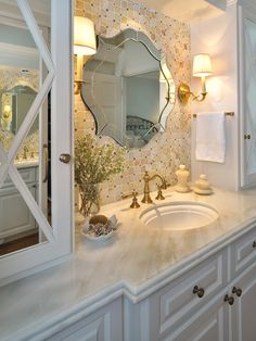 Mirrored Doors Design, Pictures, Remodel, Decor and Ideas - page 8