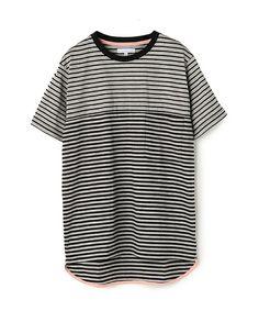 【ZOZOTOWN|送料無料】ESTNATION(エストネーション)のTシャツ/カットソー「ESTNATION 切り替えボーダーTシャツ」(71-234-13-000080)をセール価格で購入できます。