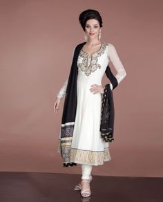 White anarkali suit #indianwedding  To buy this, simply click http://weddingshop.bigindianwedding.com/whats-new/biw00000756.html#
