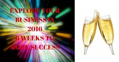 6 weeks to explode your business. i have only 5 spots for this. Want in then let me know now. Camilla
