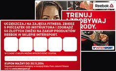 Trenuj i zdobywaj nagrody - Reebok, Pure Jatomi Fitness | Siłownia | Kluby Fitness - Pure Jatomi Fitness