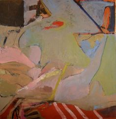 """Bernice Bing, """"Reclining Figure"""" - Bernice Bing, a native San Franciscan of Chinese heritage, received a National Scholastic Award to attend California College of Arts and Crafts (now California College of the Arts), where she studied with Richard Diebenkorn, Saburo Hasegawa and Nathan Oliveira"""