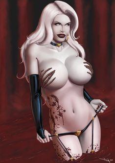 Commission: Lady Death by iurypadilha.deviantart.com on @deviantART
