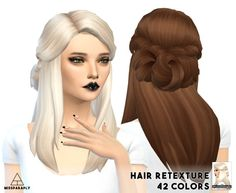 LumiaLoverSims Sawyer Hair retexture at Miss Paraply via Sims 4 Updates