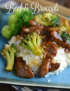 Beef & Broccoli in the Instant Pot.