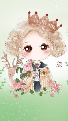 小薇来自菜女侠的图片分享-堆糖; Kawaii Chibi, Cute Chibi, Kawaii Girl, Anime Korea, Chibi Characters, Cute Love Cartoons, Chibi Girl, Anime Dolls, Image Manga