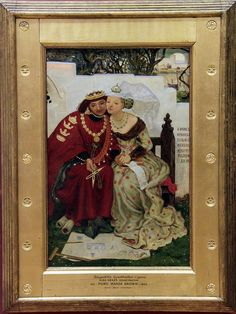 King Renes Honeymoon - Architecture, Ford Madox Brown, 1864 National Museum Cardiff