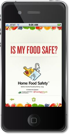 Is My Food Safe? - App now available to download to see how long you need to cook food, how long to keep leftovers, and safe kitchen practices. Great app for beginning chefs and when you're teaching yourself to cook from scratch!