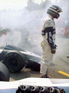 Ricardo Patrese , Brabham BT55 BMW, 1986.