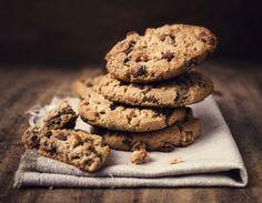 Cookie de chocolate e coco