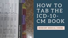This is a quick video that shows you how to tab the Medical Coding Schools, Medical Coding Certification, Medical Coding Training, Medical Coder, Medical Transcription, Medical Billing And Coding, Medical Careers, Medical Terminology, Coding Jobs