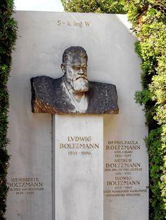 Zentralfriedhof Vienna - Boltzmann B - Ludwig Boltzmann – Wikipedia
