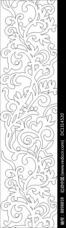 """《抽象树花雕刻图案》,抽象树花雕刻图案素材格式,尺寸2000x1000毫米,大小46.41 KB,此设计图片由设计师""""DC1314520""""于2017-11-04 20:11:13上传。"""