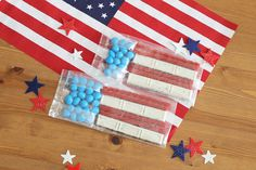 These American Flag Goodie Bags are Too Sweet to Resist!