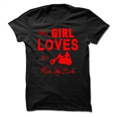 This Girl Loves To Ride Her Bike - #country hoodie #sweater scarf. PURCHASE NOW => https://www.sunfrog.com/Funny/This-Girl-Loves-To-Ride-Her-Bike.html?68278