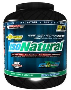 Allmax Nutrition Isonatural Pure Whey Protein Isolate