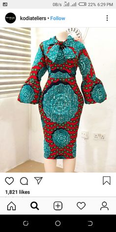 Auspicious Ankara Gowns to Copy - Ani Exclusive African Lace Styles, Ankara Short Gown Styles, Short African Dresses, Latest African Fashion Dresses, African Print Fashion, Ankara Gowns, African Style, Style Africain, Africa Dress