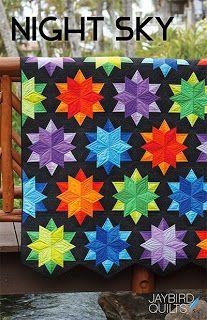 Patterns | Jaybird Quilts #sidekickruler #nightskyquilt