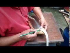 Cómo hacer el patron del calzado alto para dama artesanalmente.