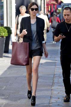 I just loved Miranda's bag
