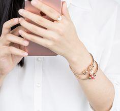 Bangles, Bracelets, Cartier Love Bracelet, Simple Designs, Pandora, Hair Accessories, Women's Fashion, Jewellery, Purses