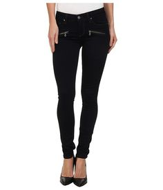 Paige Paige  Indio Zip Ultra Skinny in Rockwell No Whiskers Rockwell No Whiskers Womens Jeans for 79.99 at Im in!
