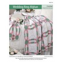 Double Wedding Ring Quilt Afghan Crochet Pattern Annies Attic