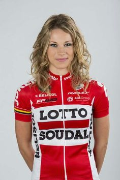Cycling beauty Marion Rousse ( FRA / Lotto-Soudal 2015)