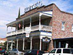 1859 Historic National Hotel Jamestown California Haunted Most