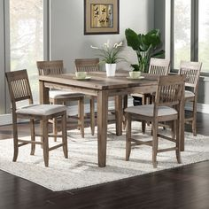 Found it at Wayfair - Casco 7 Piece Dining Set