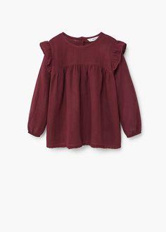 Organic Gardening Tips Fashion Kids, Denim Fashion, Fashion Games, Moda Junior, Blouse Zara, Corduroy Pinafore Dress, Moda Kids, Kids Outfits, Cute Outfits