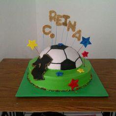 Soccer cake!